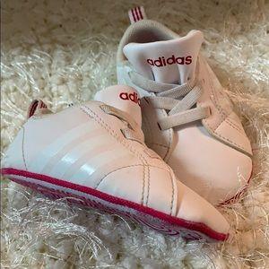 Adidas infant soft sole shoes